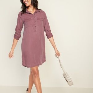 Old Navy Faded Linen Dress M